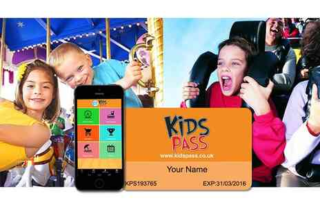 Kids Pass - 12 Month Family Savings Pass to Nationwide Attractions - Save 60%