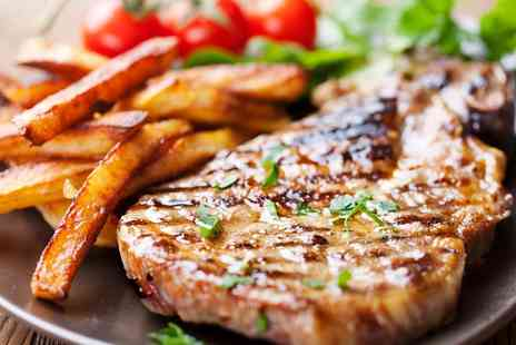 KKs Cafe Bar Grill - T Bone Steak and Prosecco for Two or Four - Save 0%