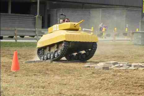 Netley Hall - 90 minute paintball tank driving session - Save 36%
