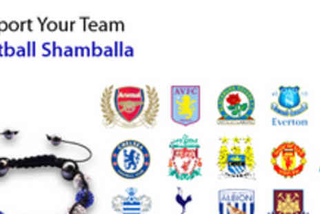 Gifts 4 U - Shamballa Bracelet in Your Football Teams Famous Colours - Save 71%