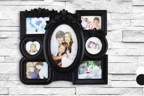 Fusion - Cluster Photo Frame Two Colours - Save 50%