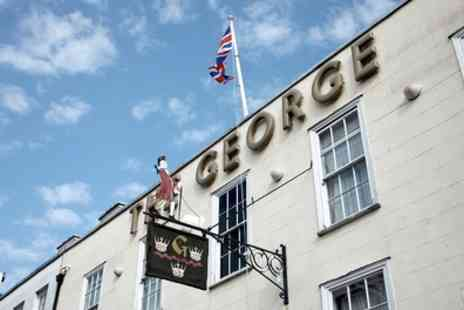 The George Hotel - One to Three Nights Stay for Two with Brakfast, Dinner and Welcome Drinks - Save 0%