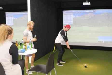 Fairweather Golf - One Hour Golf Simulator Hire for Up to Four - Save 50%