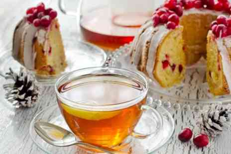 Abels Harp - Festive Afternoon Tea with Mulled Wine or Bubbly for Up to Four - Save 0%