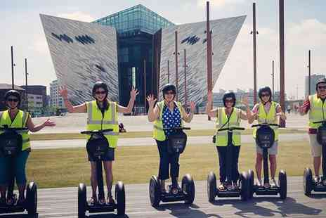 Segway NI - Off Road Experience or Titanic Guided Tour - Save 40%