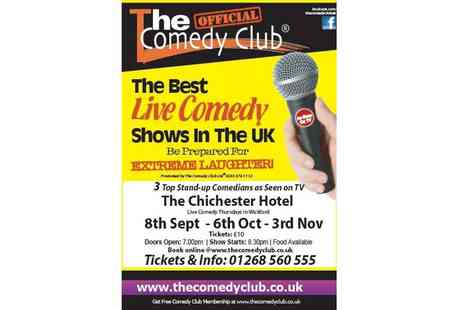 The Chichester Hotel - The Chichester Hotel Comedy Night on 6 October - Save 50%