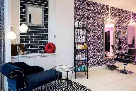 Salon Zone Boutique - Half Head Highlights, Haircut and Blow Dry - Save 31%