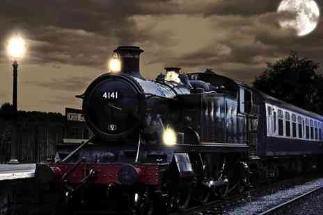 Epping Ongar Railway - Two tickets for the Epping Ongar Railway Halloween ghost train - Save 50%