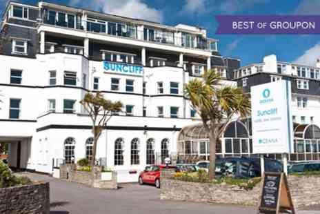 The Suncliff Hotel - One or Two Nights with Breakfast, Dinner, Leisure Access and 30% Off Day Spa Treatments - Save 0%