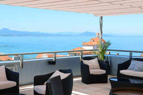 Radisson Blu Hotel - Four Star 5 nights in a Standard Room Biarritz View - Save 37%
