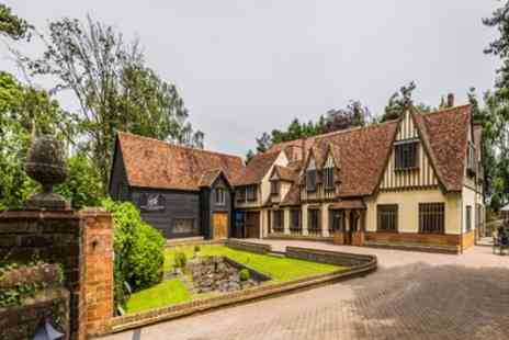 Great Hallingbury Manor -  One or Two Nights for Two with Dinner and a Welcome Drink - Save 0%