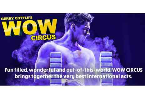 Gerry Cottle's Turbo Circus - Grandstand ticket to Gerry Cottles WOW Circus - Save 50%