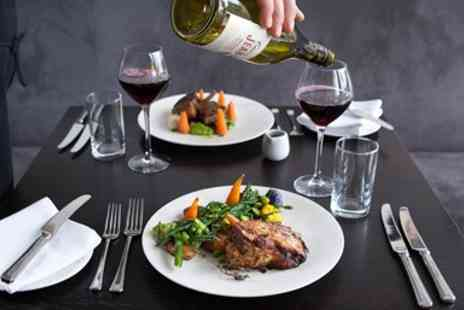 La Perle - Three Course Meal for 2 - Save 44%