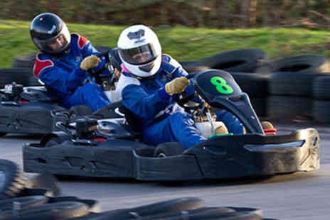West Country Karting -  80 karting laps for one person - Save 76%