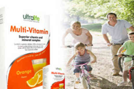 Ultralife - Sachets of superior Multivitamins available in tasty Orange or Tropical flavours. Suitable for the whole family and the perfect - Save 65%