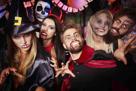 Thames Party Boats - Halloween Thames party boat cruise with sparkling wine reception for one - Save 40%