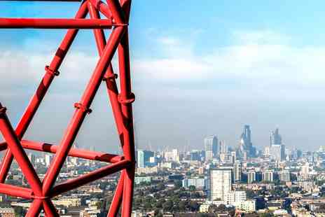Arcelormittal Orbit - ArcelorMittal Orbit Entry with a Hot Drink and Slice of Cake for a Child or One or Two Adults - Save 0%