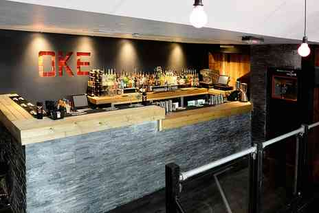 OKE - Karaoke Package with Spirits and Prosecco - Save 0%