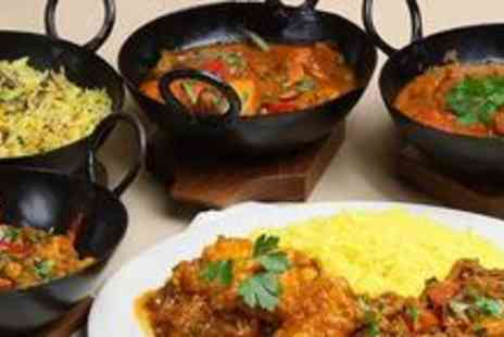 The Raj - Two course Indian meal for two with wine - Save 60%