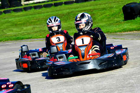 Whilton Mill - One hour of outdoor go karting with up to 30 laps for 1 or 2 - Save 0%