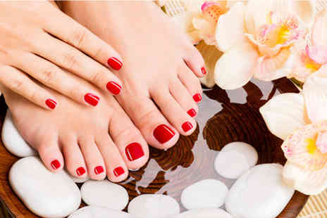 Beauty Within Doncaster - Gel manicure & pedicure - Save 50%