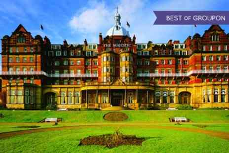 Majestic Hotel - Four Star Harrogate Stay For Two With Breakfast, Dinner, Wine And Leisure Access; With Option For Tea - Save 0%