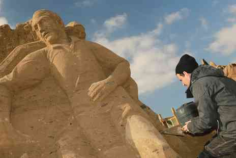Weston Sand Sculpture - Entry for Two or a Family of Four - Save 50%