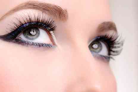 Dahlia Hair & Beauty - A Set of Natural, Luscious or Glamour Individual Eyelash Extensions - Save 56%