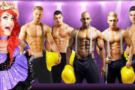 Malestrippers - Entry to Girls Night Out Cabaret including a cocktail, buffet, photos and a calendar - Save 64%