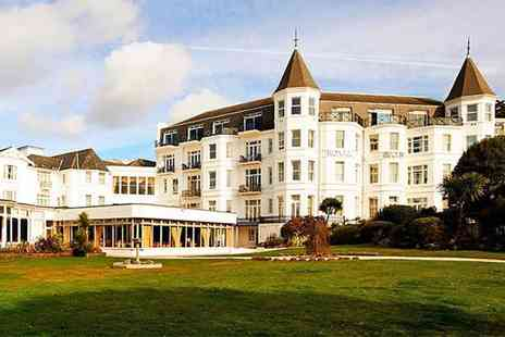 Britannia Hotels - Bournemouth stay for two with dinner, sparkling wine and breakfast or afternoon tea or spa treatment - Save 0%