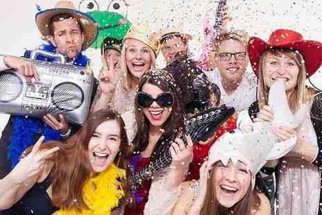 All in 1 Events Decor - Three hours of photobooth hire including unlimited single prints - Save 38%