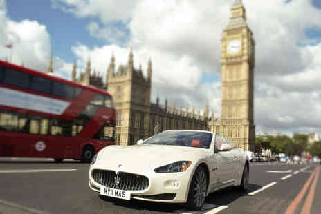 GT Rush - 30 minute Maserati driving experience - Save 34%