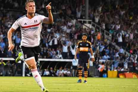 Fulham Football Club - Fulham v Rotherham Adults and Junior Tickets, Craven Cottage On 13 December - Save 30%