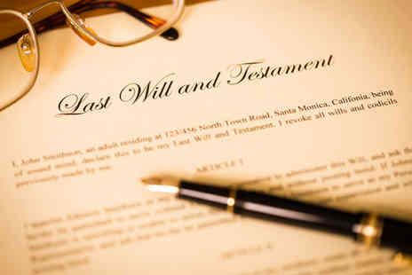 Bespoke Estate Planning - Single or mirror will With experienced professionals - Save 91%
