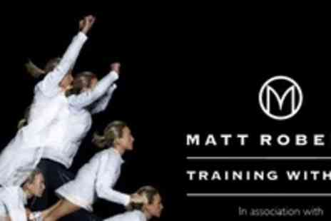 Matt Roberts & Conviviality - Training with You assessment for up to 6 people Plus six week personal training programme - Save 50%
