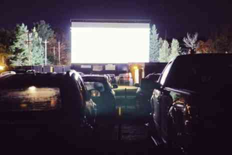 Big Eds Drive In Cinema - Family Drive In Cinema Entry for One Vehicle with Two Popcorns and Two Drinks - Save 53%