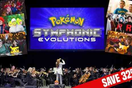 Curated by Groupon Events - Tickets to Pokemon Symphonic Evolutions on 19 and 20 December - Save 29%