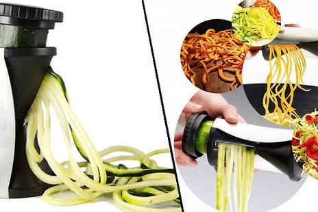 Fusion - Stainless Steel Vegetable Spiralizer - Save 83%