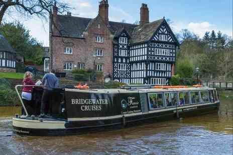 Bridgewater Cruises - Festive afternoon tea and canal cruise for two - Save 50%