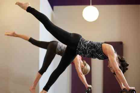 Dynamic Hot Yoga - Five Pilates or Ashtanga Classes for One or Two People - Save 62%
