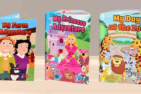 Star Stories - Personalised Childrens Story Books Three Titles - Save 50%