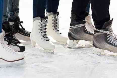 Silver Blades & Planet Ice Group - ice rink entry and skate hire - Save 50%