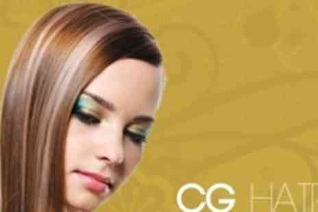 CG Hair - Keratin Blow Dry With Moisturising Treatment and Cut - Save 56%