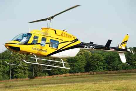 Elite Helicopters - Elite Helicopters Tour of Goodwood, the South Coast or London - Save 31%