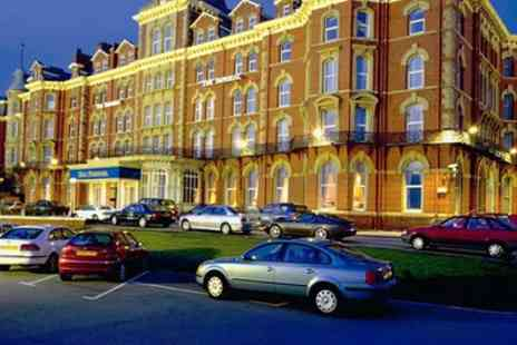 Imperial Hotel Blackpool - One or Two Nights Stay for 2 with Meals, Wine, Leisure Access, Late Check Out and Optional Tea - Save 0%