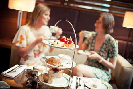 The Mere Golf & Country Club - Luxury afternoon tea for two people with Prosecco - Save 50%