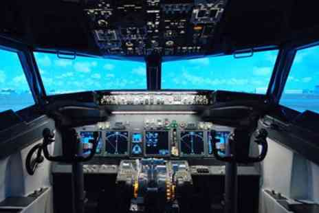 Jet Sim School - Boeing 737 Flight Simulator Experience - Save 55%