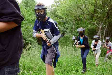 Blind Fire Paintball - Childrens Paintball Party with 100 Balls and Lunch for Up to Ten - Save 66%