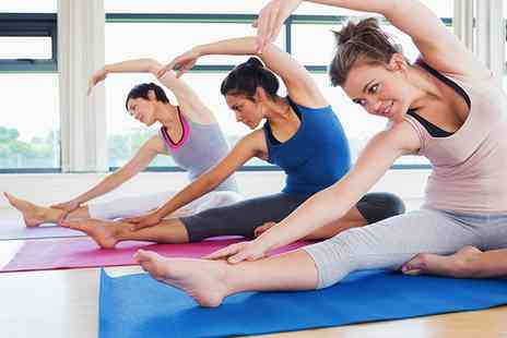 Shambhala studios - Five Pilates or Yoga Classes for One or Two - Save 73%