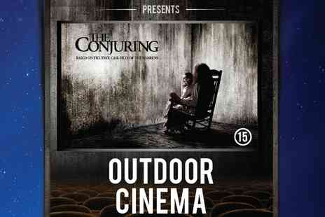 Outdoor Cinema - Tickets to Outdoor Cinema and Halloween Party The Conjuring on 29 October at 7 p.m. - Save 17%